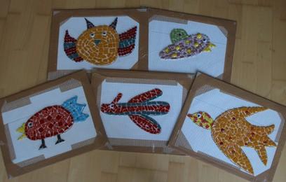 bunte-vögel-aus-mosaik